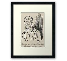 Theodor Kittelsen Per og Paal og Espen Askeladd Barne Eventyr1915p028 Framed Print