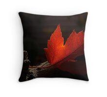 Maple Leaf Throw Pillow