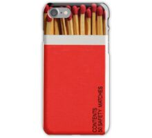 Box of Matches Phone Cover iPhone Case/Skin