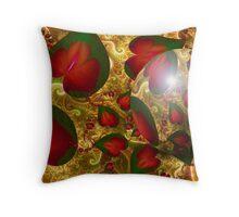 Royal Garden Sphere: Autumn Throw Pillow