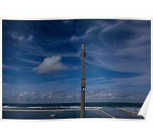 ocean baths blues Poster