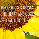 cheerful look sunflower card by dedmanshootn