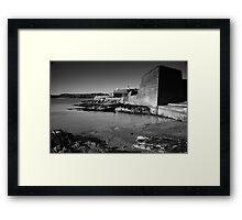 Charles Fort Framed Print