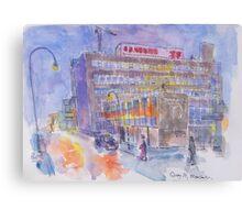 Granada TV Studios, Manchester Canvas Print