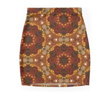 Stained Glass Mandala Window Mini Skirt