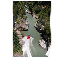 Shotover Gorge and jet Poster