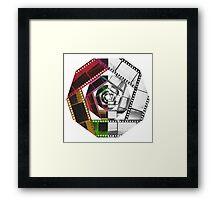 Color & Monochrome  Framed Print