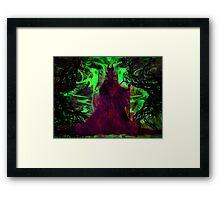 Eye of Maleficent Framed Print