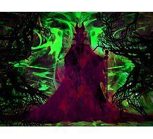 Eye of Maleficent Photographic Print