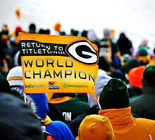 Green Bay Packers World Champions by vanessb1993