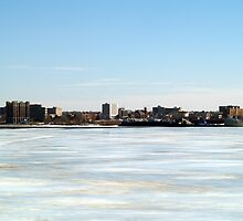 Across Muskegon Lake by BarbL