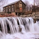 Abraham Erb's Grist Mill - 1816 by Rob Smith