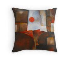 PRIMEVAL LANDSCAPE Throw Pillow