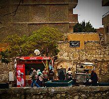 Street Scene in Alexandria egypt by jkolnick