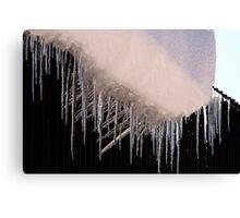Ice Darts Canvas Print