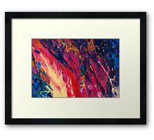 Abstract Explosiveness Framed Print