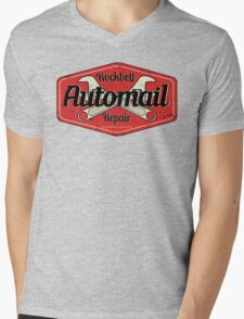 Rockbell Automail Repair Mens V-Neck T-Shirt