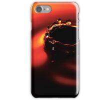 Water Droplet Crown. iPhone Case/Skin