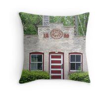 City Water 1899 Throw Pillow