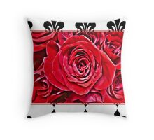 Lovely Flowers Throw Pillow