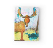Blue Moose on the Loose ~ Ginkelmier Land  Hardcover Journal