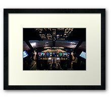 Stormfront ahead Framed Print