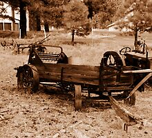 Tractor Graveyard by Bellissimoyou