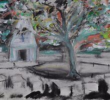 Memorial - Sketch 2 by Julie-Ann Vellios