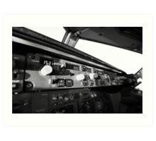 The autopilot Art Print