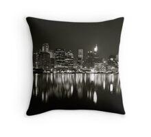 Harbour Monocrome Throw Pillow