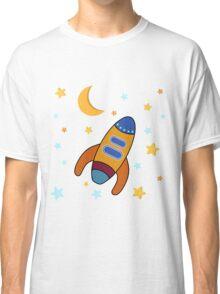 Space Rocket Classic T-Shirt