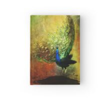 Peacock in Full Color Hardcover Journal