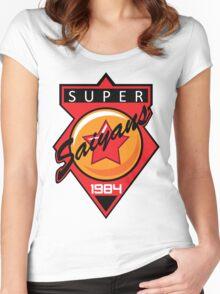 Super Saiyans Baseball Women's Fitted Scoop T-Shirt