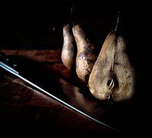 sliced pears by charitygrace