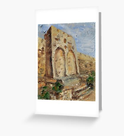 The Gates of Mercy and Truth Greeting Card