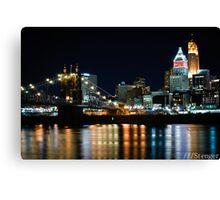 Refurbished Cincinnati Canvas Print