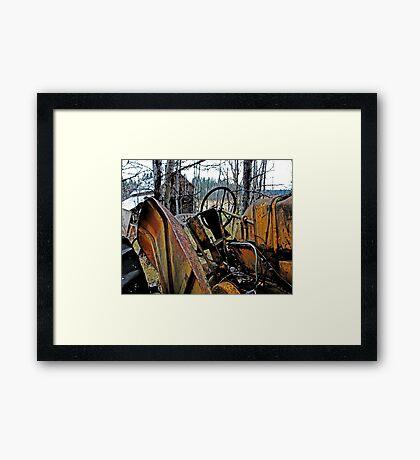 Down on the Farm 72 Framed Print