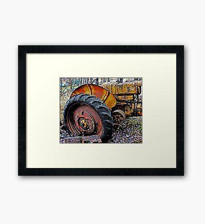 Down on the Farm 73 Framed Print