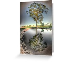 Drought by-gone Greeting Card