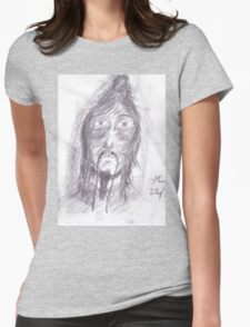 Shaman Visitor Womens Fitted T-Shirt