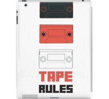 Tape Rules iPad Case/Skin