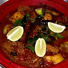 Lamb and Lentil Tagine by waxyfrog