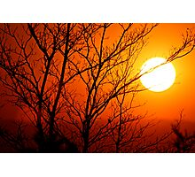 South African Sunset Photographic Print