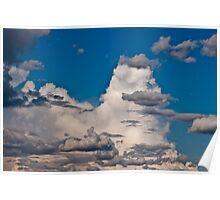 Approaching Storm Clouds - Alaska  Poster
