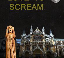 The Scream World Tour Westminster Abbey Love To Scream by Eric Kempson