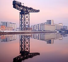 River Clyde reflection by Grant Glendinning