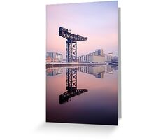 River Clyde reflection Greeting Card