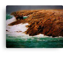 Cote Sauvage, Quiberon, Bretagne Canvas Print