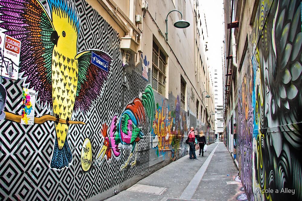 Union Lane, Melbourne by Nicole a Alley