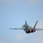 RAAF - FA-18 Take Off by wolfcat